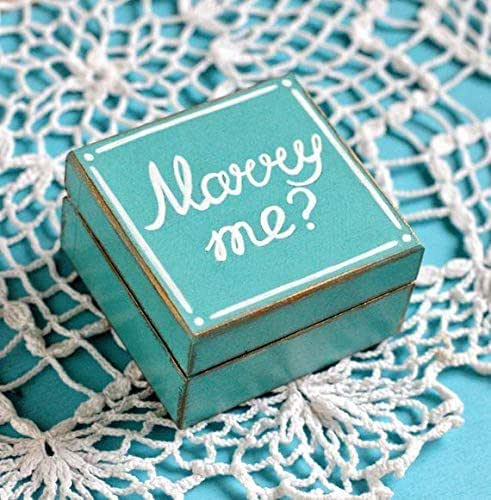 Amazon.com: Proposal ring box Marry me, Engagement ring