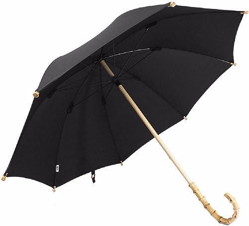 WAWZJ-Umbrella English Back Style Handmade Rattan Bamboo Umbrella Long Handle Bamboo Umbrella Men S Business Umbrella