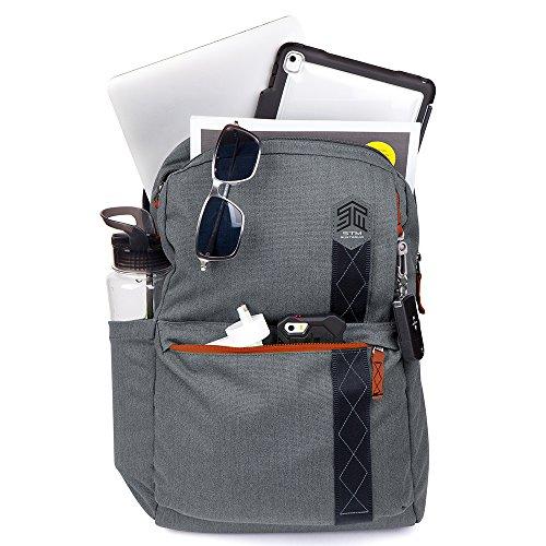 STM Banks Backpack For Laptop & Tablet Up To 15'' - Tornado Grey (stm-111-148P-20) by STM (Image #4)