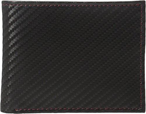 Murphy Wallet Compact (Johnston & Murphy  Men's Slimfold Wallet Black One Size)