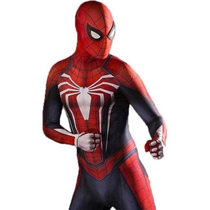 DSFGHE Traje De Spiderman De Personaje Juego De Equipo ...