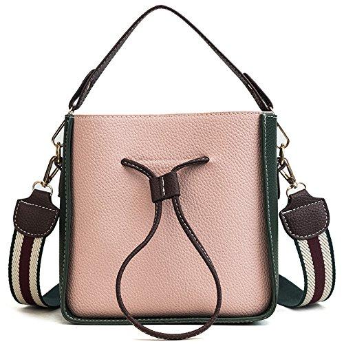 Hlmhhl - Summer Bag Woman With Shoulder Bag, Small Bag, Tote Bag, Powder And Green Powder And Green