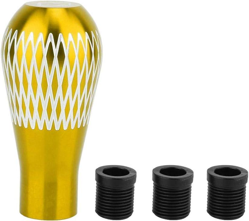 Gold Gorgeri Universal Aluminiumlegierung Auto Schaltknauf Griff Schalthebel Schaltknauf M8 M10 M12