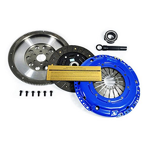 Vw Jetta Clutch (EFT STAGE 1 CLUTCH KIT+FLYWHEEL AUDI TT VW BEETLE GOLF JETTA 1.8L 1.8T 1.9L TDI)