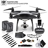 DJI Phantom 4 Pro Obsidian (CP.PT.00000018.01) With Extra Battery Bundle