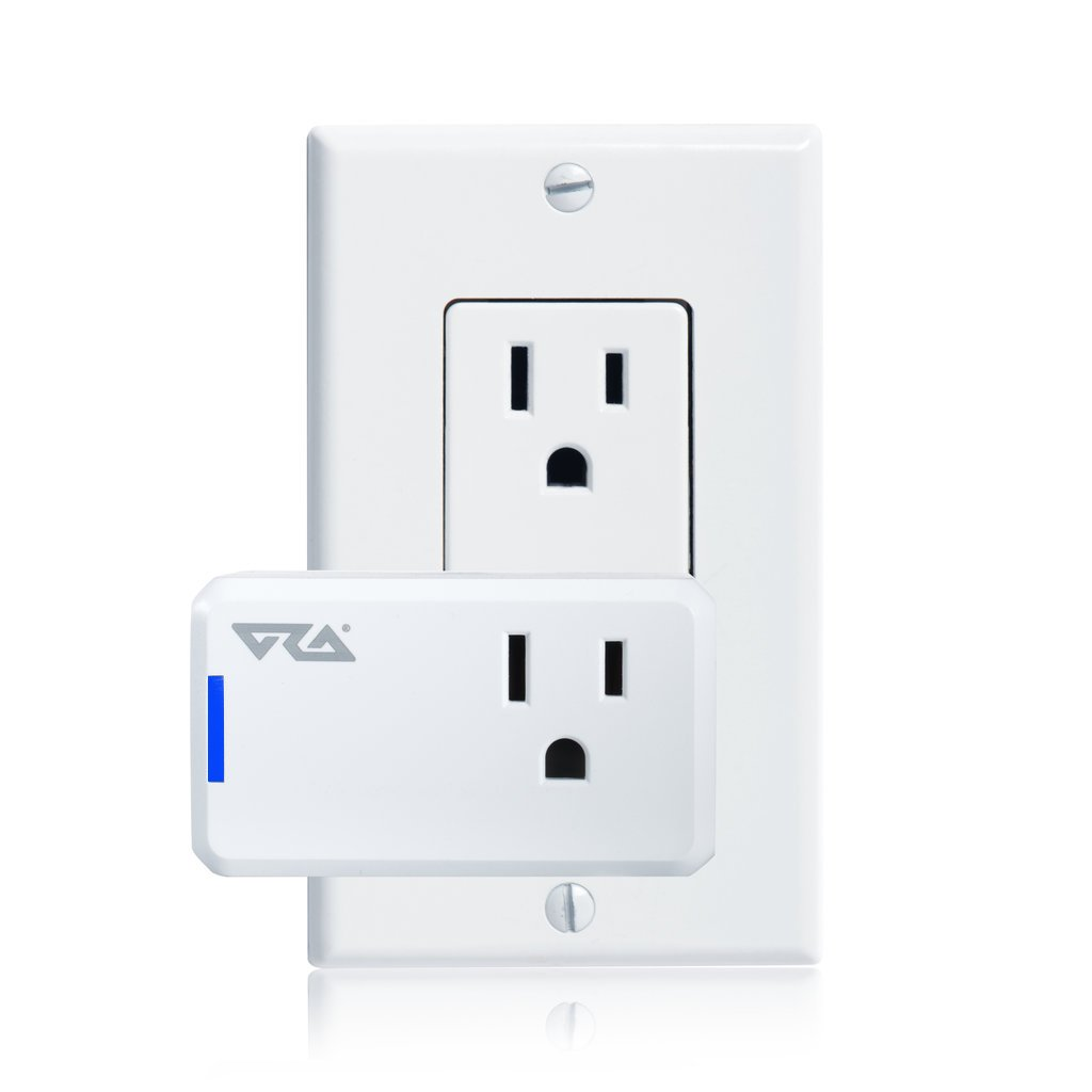 Ora Alexa-Enabled Wi-Fi Mini Smart Plug, White (Pack of 2) by ORA (Image #2)