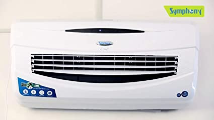 Symphony Cloud 15-Ltrs Room Air Cooler (White) - with Remote Control