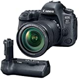 Canon EOS 6D Mark II DSLR with EF 24-105mm f/3.5-5.6 IS STM Lens - With Canon BG-E21 Battery Grip