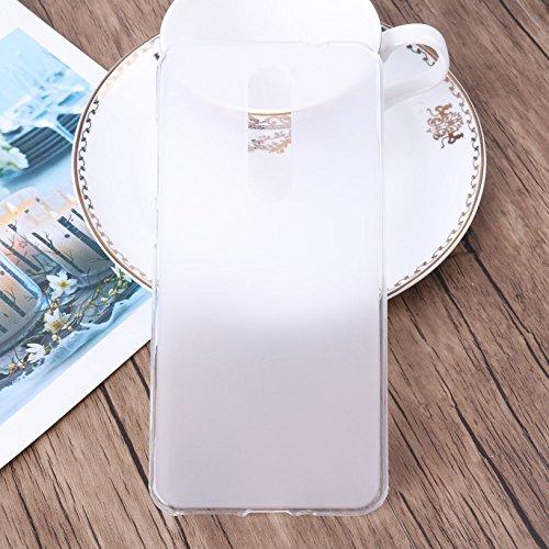 Funda Para CUBOT X18 5,7 pulgadas, Sunrive Silicona Funda Slim Fit Gel Carcasa Case Bumper de Impactos y Anti-Arañazos Espalda Cover(tpu Unicornio 2) + 1 x Lápiz óptico tpu No hay un patrón