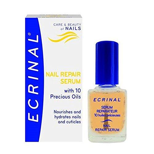 Bundle of 3 items Ecrinal Nail Serum 10 ml, Nail Strengthener 10 ml, and Nail Cream 10 ml