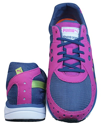 Puma Faas Course Chaussures Femmes À 36 pink 300 Pied Trainers blue q1qf4