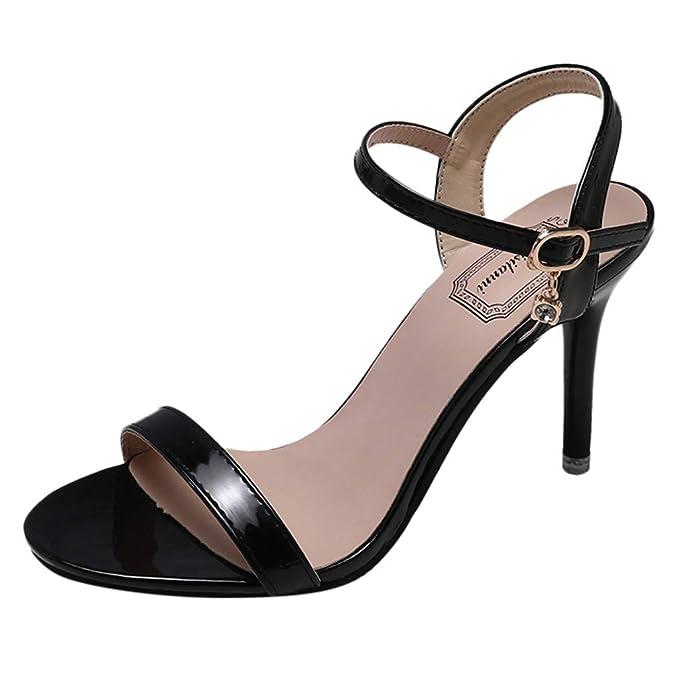 0afb8ee89e2 Women s Fashion Open Toe High Heels Women Party Wild Stiletto Sandals Heels  Sandals for Women Girls