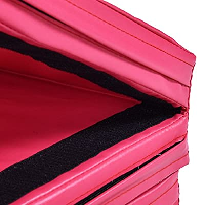 """MD Group 4' x 10' x 2"""" Folding Panel Thick Fitness Exercise Gymnastics Mat"""