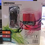 Medion mini speaker with bluetooth technology