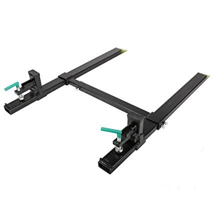 Amazon com: Jeremywell Clamp on Pallet Forks 4000lbs 43