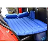Car Inflatable Matress Travel Camping Oxford Fabric Air Bed Style 3 (Blue)