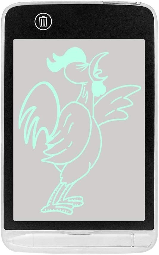 学生友だち家族のためのLCD画面ロックと書き込みタブレットデジタル描画ボード電子式消去可能スケッチ落書きパッド玩具 ペン&タッチ マンガ・イラスト制作用モデル (Size : L100DT-BK)
