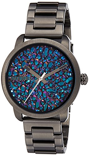 Amazon.com: Diesel DZ5428 Ladies Flare Rainbow Gunmetal IP Watch: Watches