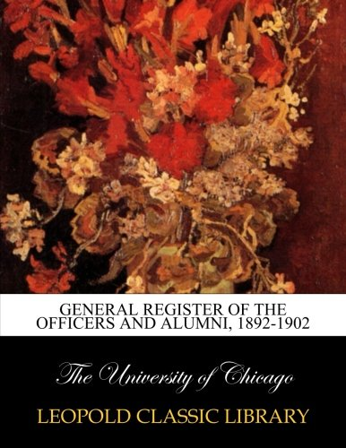 Download General register of the officers and alumni, 1892-1902 pdf epub