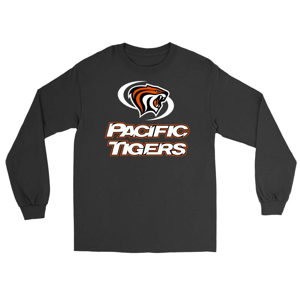 PPPAC02 Mens//Womens Boyfriend Long Sleeve Tee Official NCAA University of The Pacific Tigers
