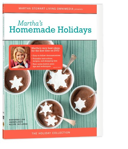 - The Martha Stewart Holiday Collection - Homemade Holidays