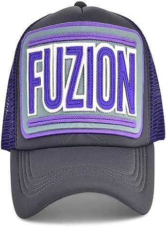 Fuzion Classic Purple Grey Cap