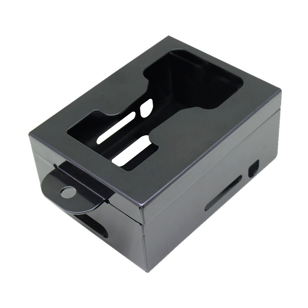 Dovewill Metal Camera Security Box Case Protective Cover for Outdoor Game Trail Camera, against Thief and Damage
