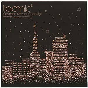 Technic Super Elegant Cosmetics Advent Calendar, Advent Of Beauty, 24 Surprises! (Chic)