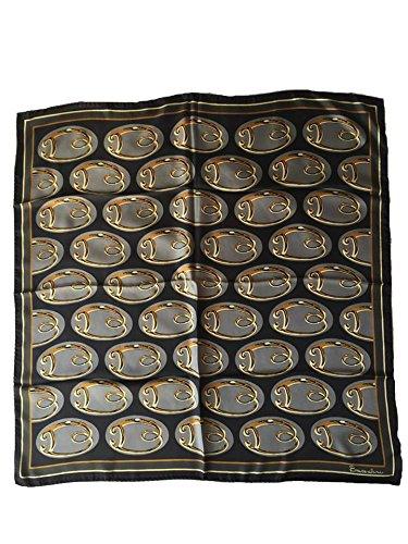 Nero Itlay 100 Foulard Seta In Braccialini 90x90cm Made xw0Uwq14YZ