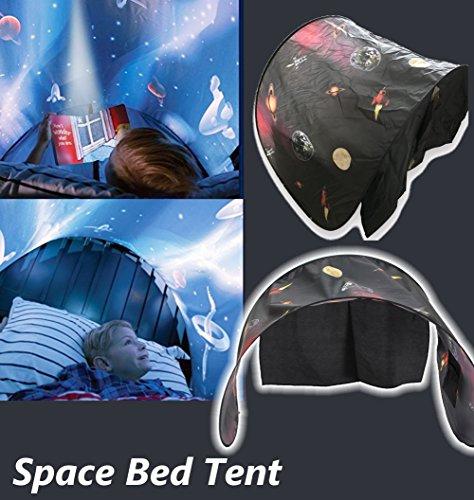 Adventure Tent Kid Play (Jeteven Dream Tents Magical Dream World, Space Adventure Kids Play Tents Children Playhouse Room Decoration 230cm x 80cm)