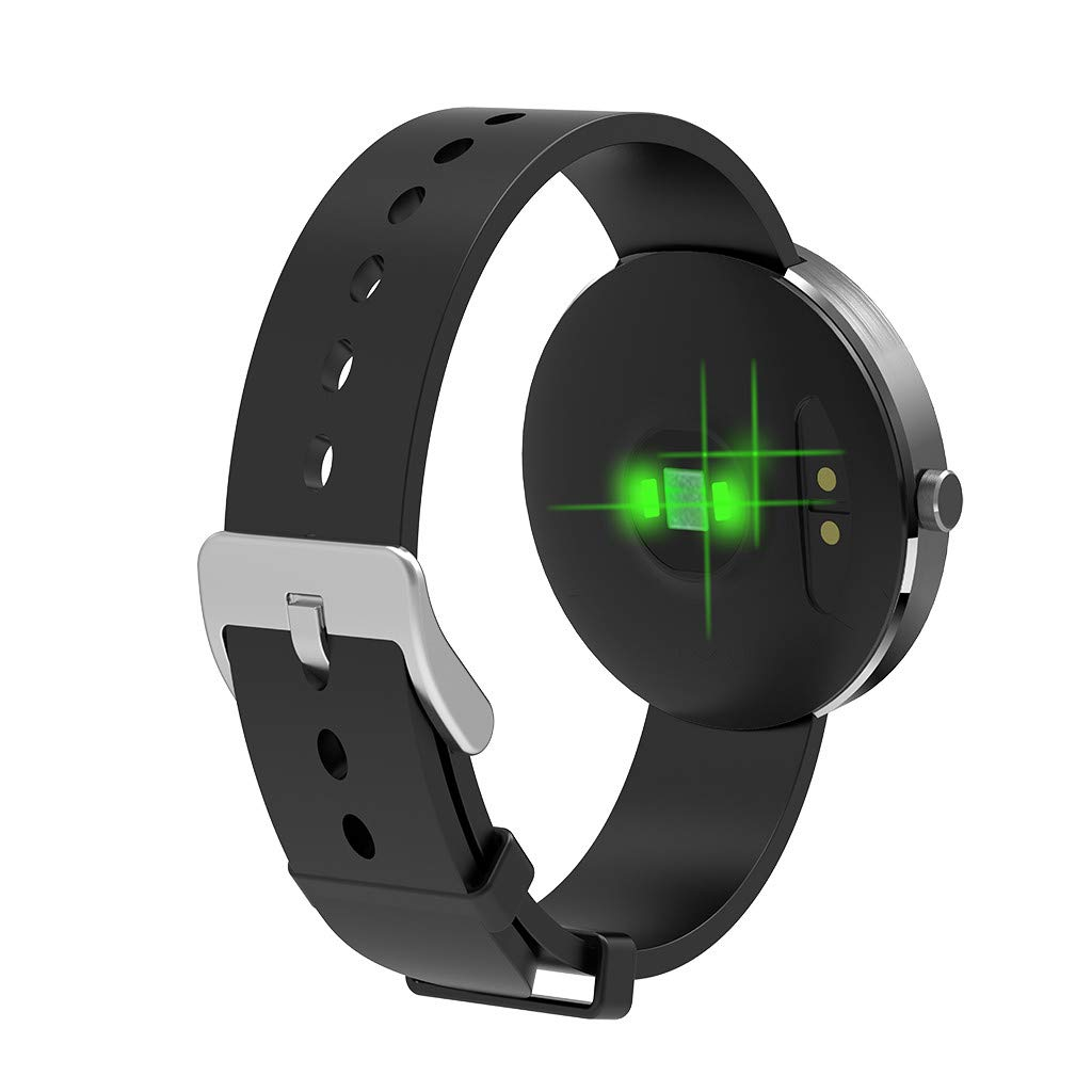 YNAA for Android iOS, Sport Smart Watch, Fitness Calorie Heart Rate Monitoring Physiological Cycle Reminder Smart Bracelet (C) by YNAA (Image #4)