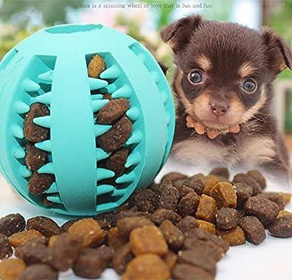 CMi - Pelota de juguete para perros, 4 unidades, rojo, verde, azul ...