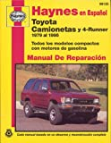 Toyota Pick Ups and 4 Runner 1979, 95, John Haynes, 1563921596