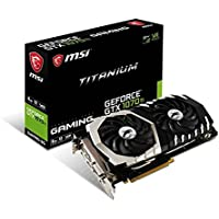 MSI GeForce GTX 1070 Ti TITANIUM 8G Graphics Card