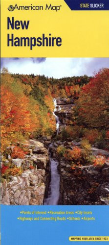 American Map New Hampshire State Slicker