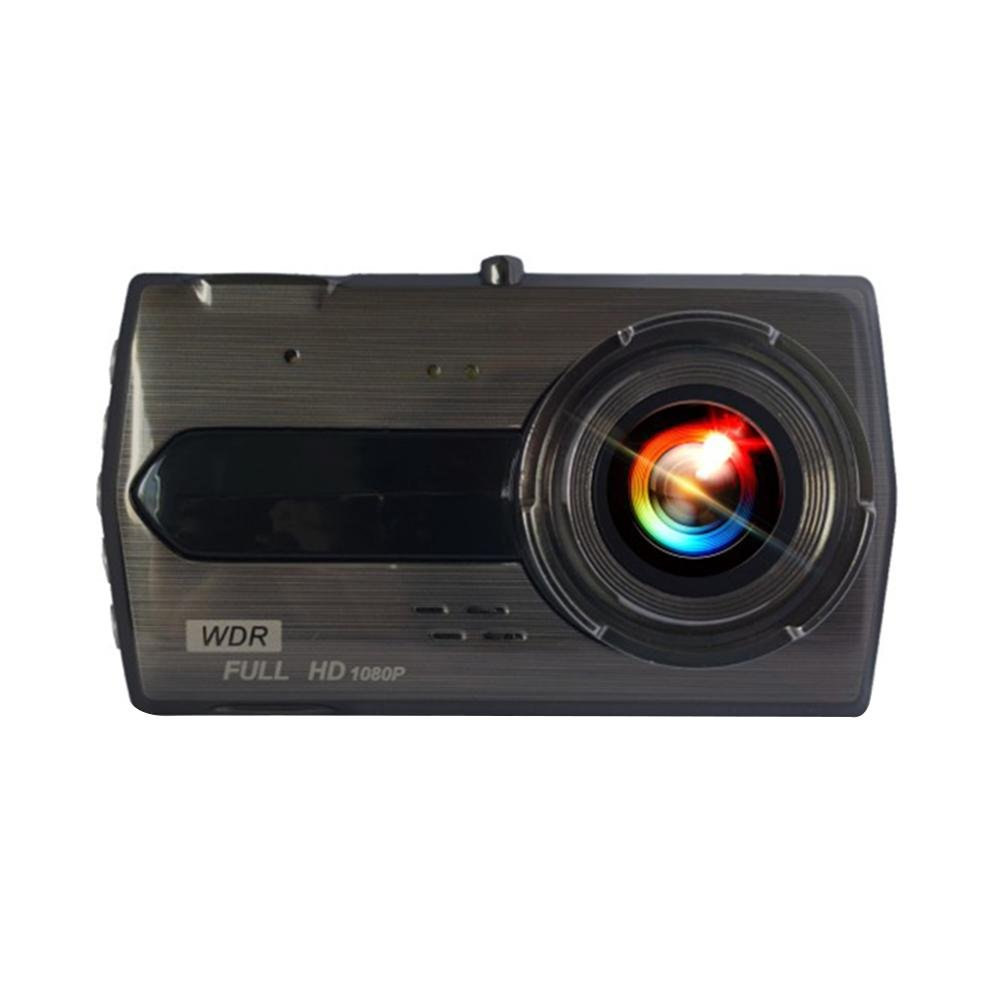 4 Inch Touch Screen HD 1080P Driving Recorder Dual Camera Lens Front and Rear Recorder
