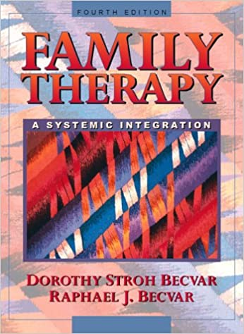 Book Family Therapy: A Systematic Integration