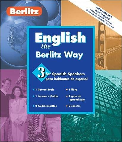 Berlitz English Book