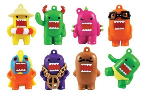 Domo Colorful Figure Charm - Complete Set of 8 Figures