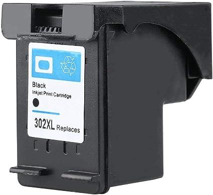 Cartucho de Tinta Negro para HP 302 Compatible con HP Deskjet 2130 ...