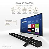 Sound Bar, BlitzWolf Smart Soundbar for TV 36