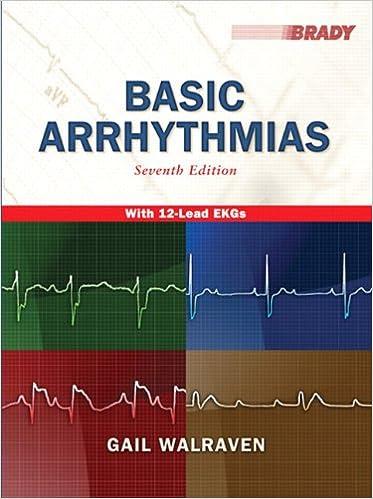 Basic Arrhythmias 7th Edition Gail Walraven 9780135002384 Amazon