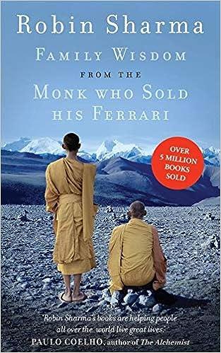 Sharma R Family Wisdom From The Monk Who Sold His Ferrari Amazon De Sharma Robin Fremdsprachige Bücher