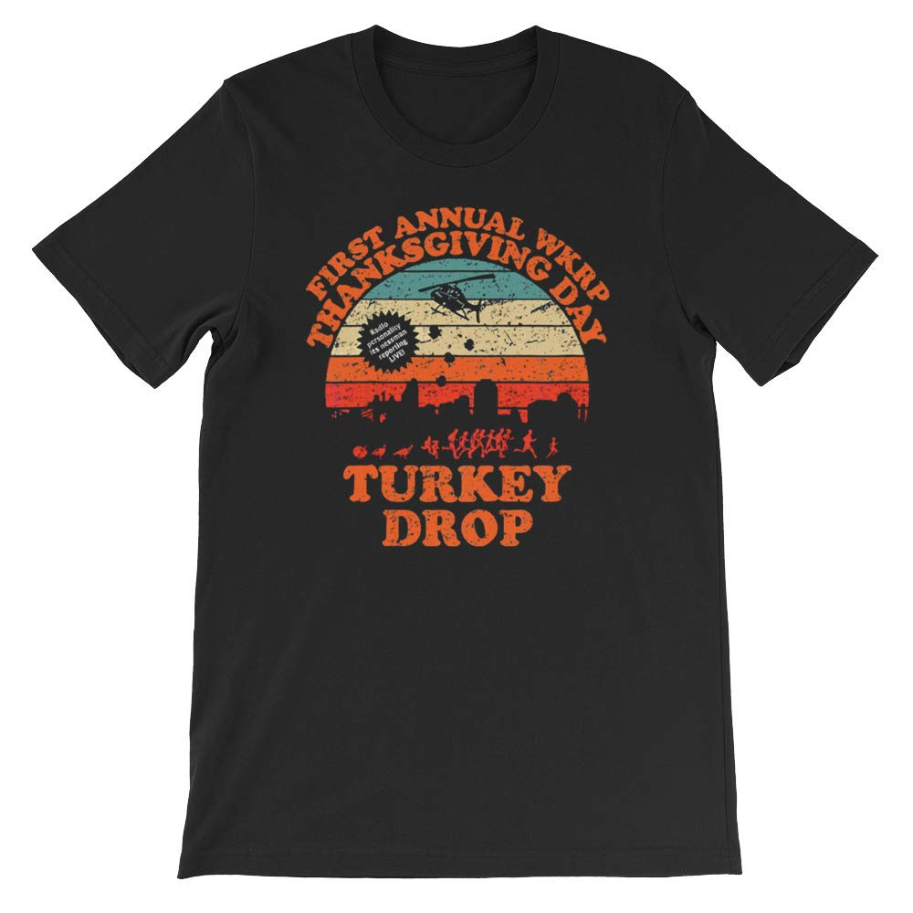 Vintage First Annual WKRP Thanksgiving Day Unisex T-Shirt