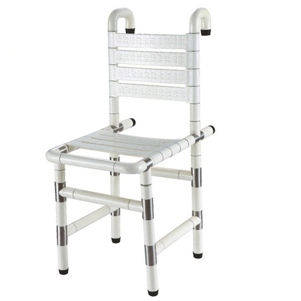 GRJH® シャワー椅子、リムーバブルノンスリップ老人妊婦浴室椅子浴室シャワーチェア 防水,環境の快適さ B079GJP51G