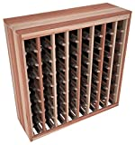 Wine Racks America Redwood 64 Bottle Deluxe. 13 Stains to Choose From!