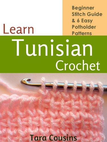 Amazon Learn Tunisian Crochet Beginner Stitch Guide 6 Easy