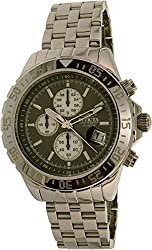 Invicta 18850 Men's Aviator Chronograph Stainless Steel Grey Dial Watch