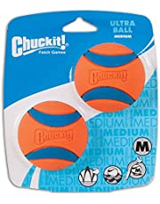 Chuckit! 2.5-Inch Ultra Ball 2 Pack, Medium, Orange/Blue