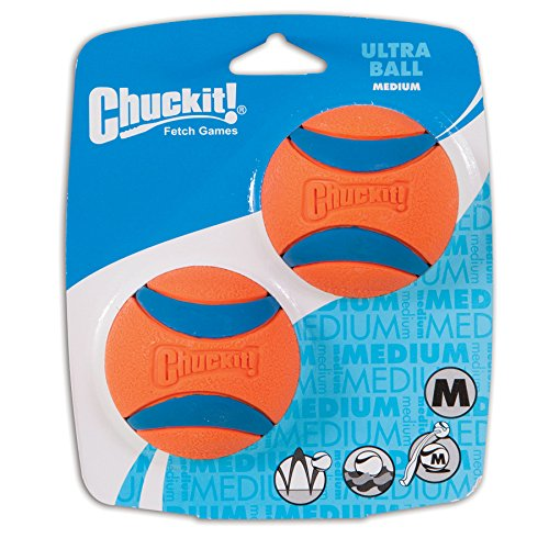 ChuckIt Medium Ultra Balls 2.5-Inch 2-Pack